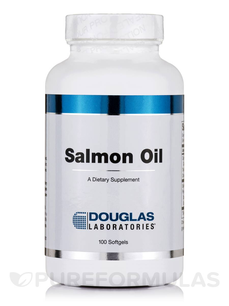 Salmon Oil - 100 Softgels