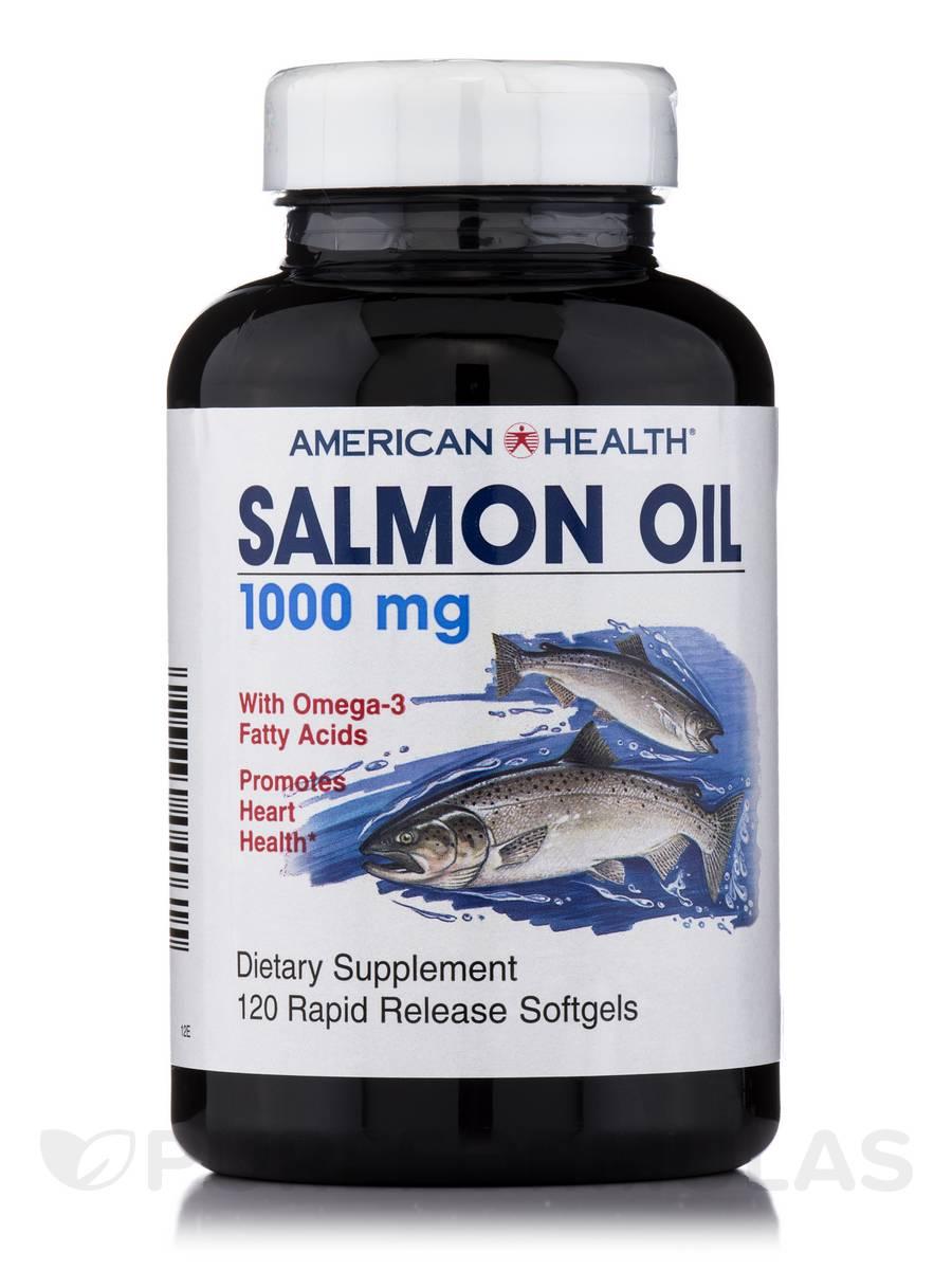 Salmon Oil 1000 mg - 120 Softgels
