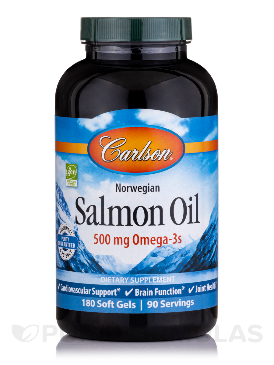 Norwegian Salmon Oil 1000 mg - 180 Soft Gels