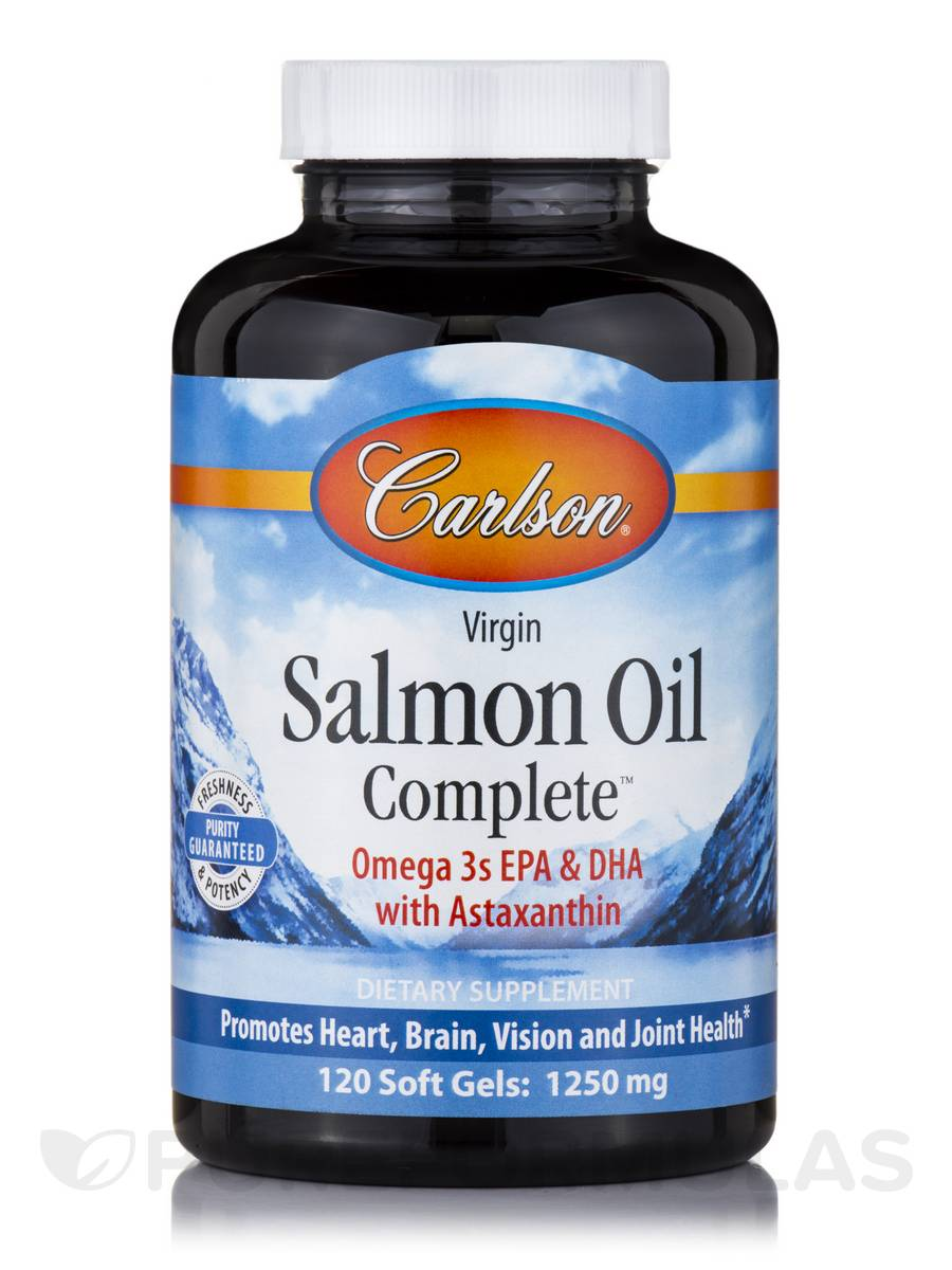 Salmon Oil Complete - 120 Soft Gels