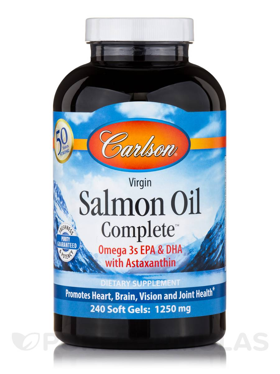 Salmon Oil Complete - 240 Soft Gels