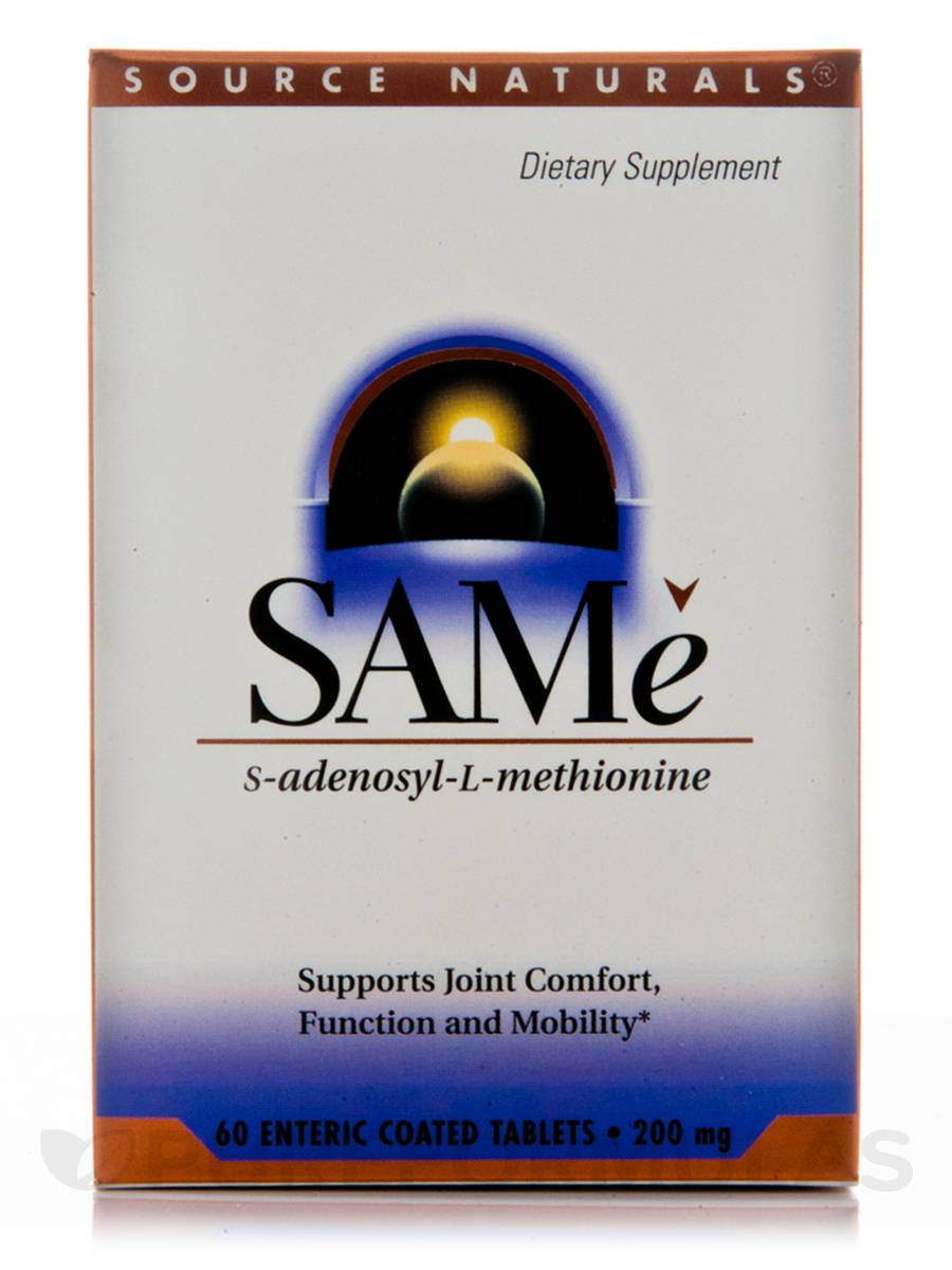 SAMe 200 mg - 60 Tablets