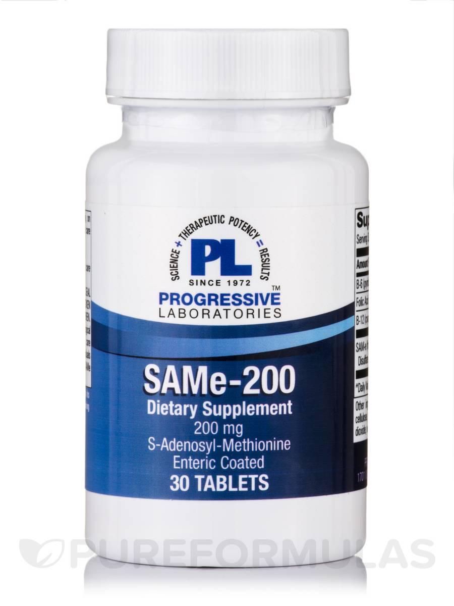 SAMe 200 mg - 30 Tablets