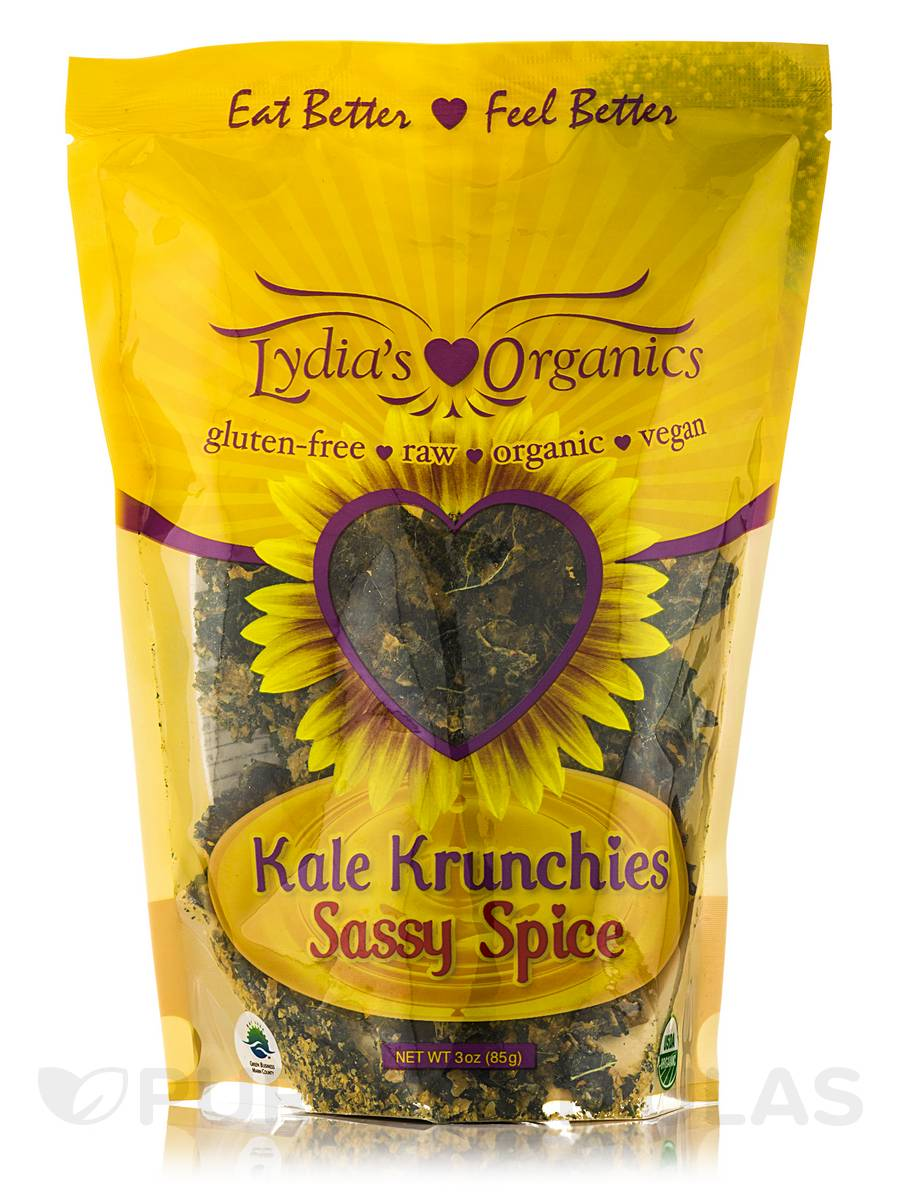 Kale Krunchies Sassy Spice - 3 oz (85 Grams)
