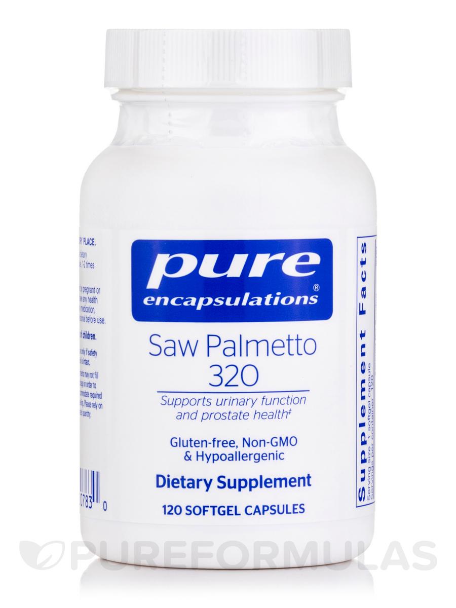 Saw Palmetto 320 - 120 Softgel Capsules