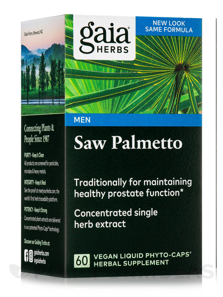 Saw Palmetto - 60 Vegetarian Liquid Phyto-Caps
