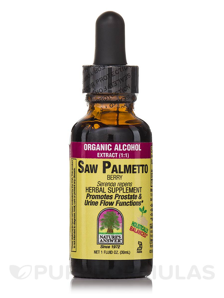 Saw Palmetto Berry Extract - 1 fl. oz (30 ml)