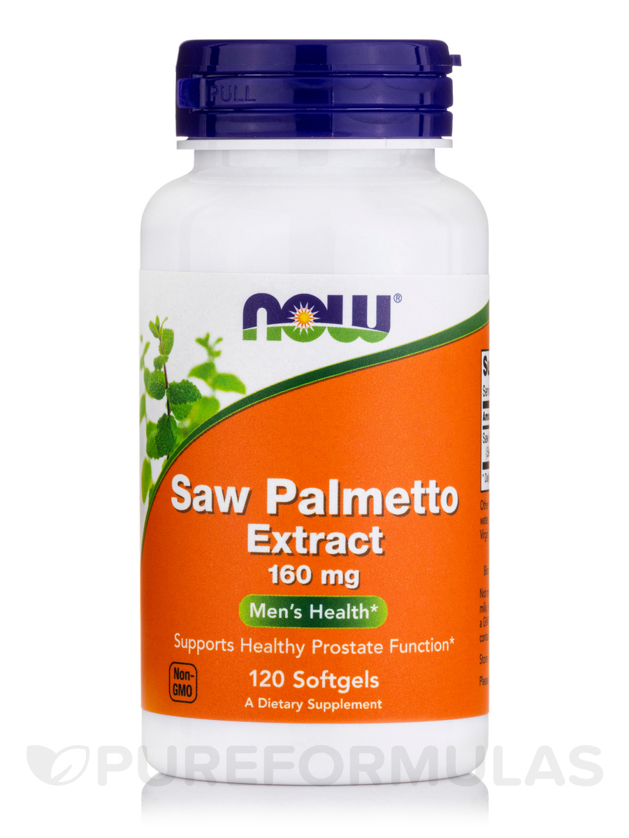Saw Palmetto Extract 160 mg - 120 Softgels