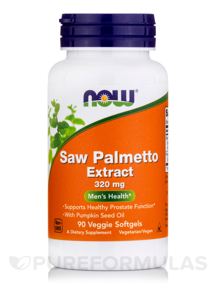 Saw Palmetto Extract 320 mg - 90 Vegetarian Softgels