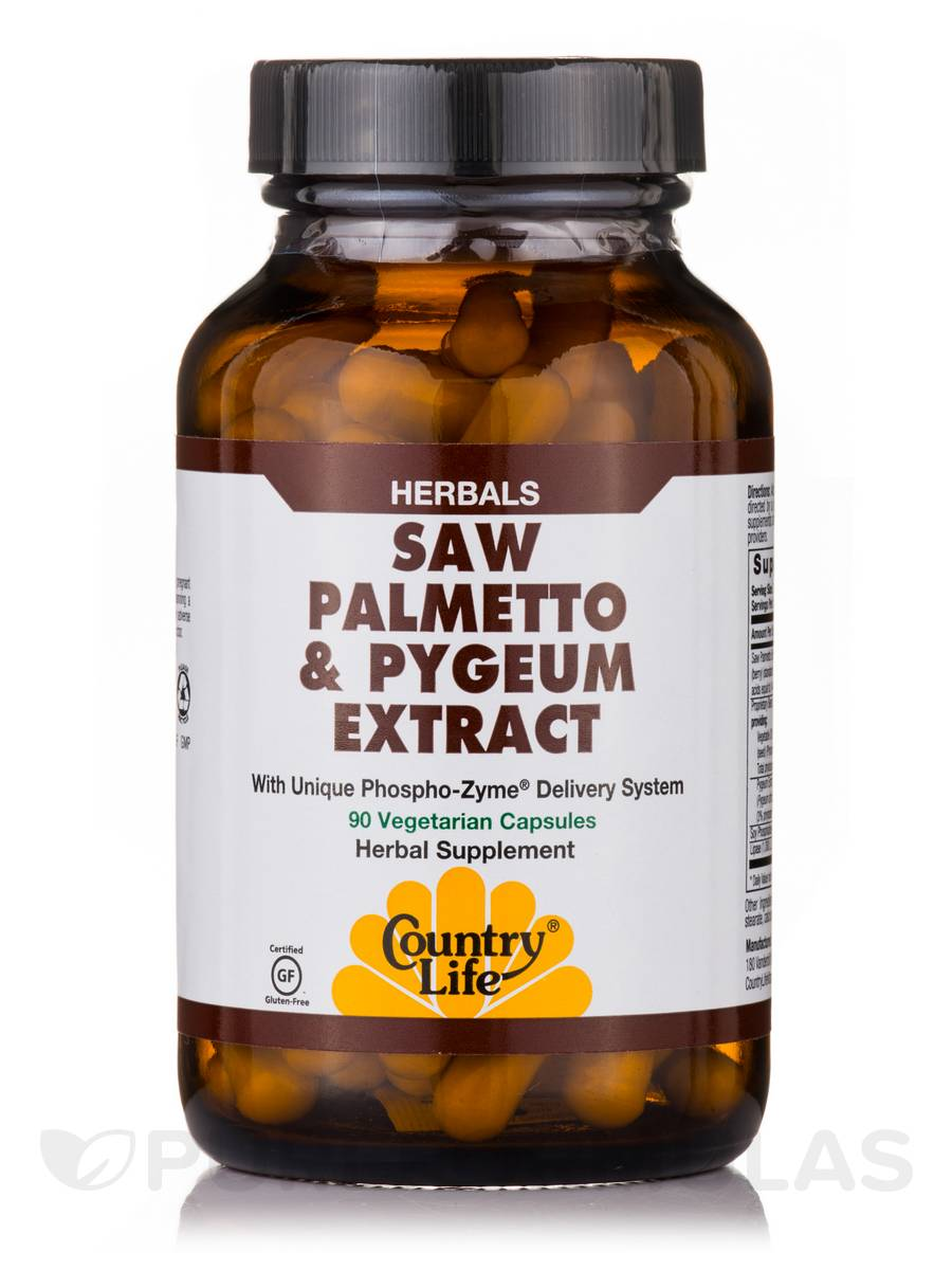 Saw Palmetto & Pygeum - 90 Vegetarian Capsules