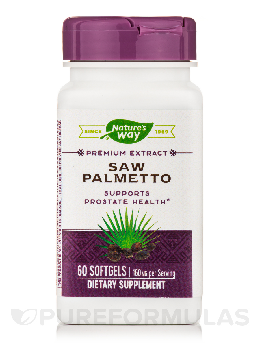 Saw Palmetto Standardized - 60 Softgels