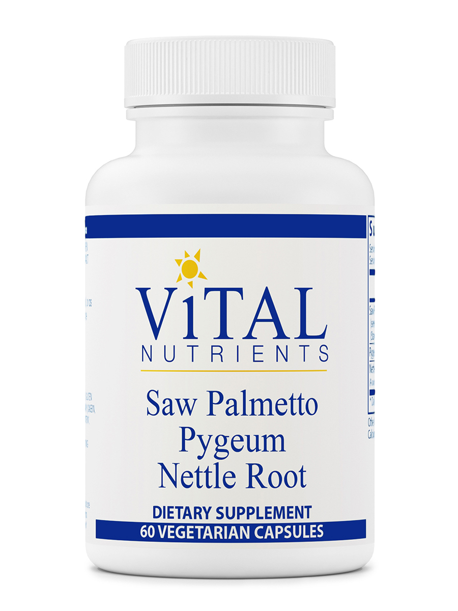 Saw Palmetto/Pygeum/Nettle Root - 60 Vegetarian Capsules