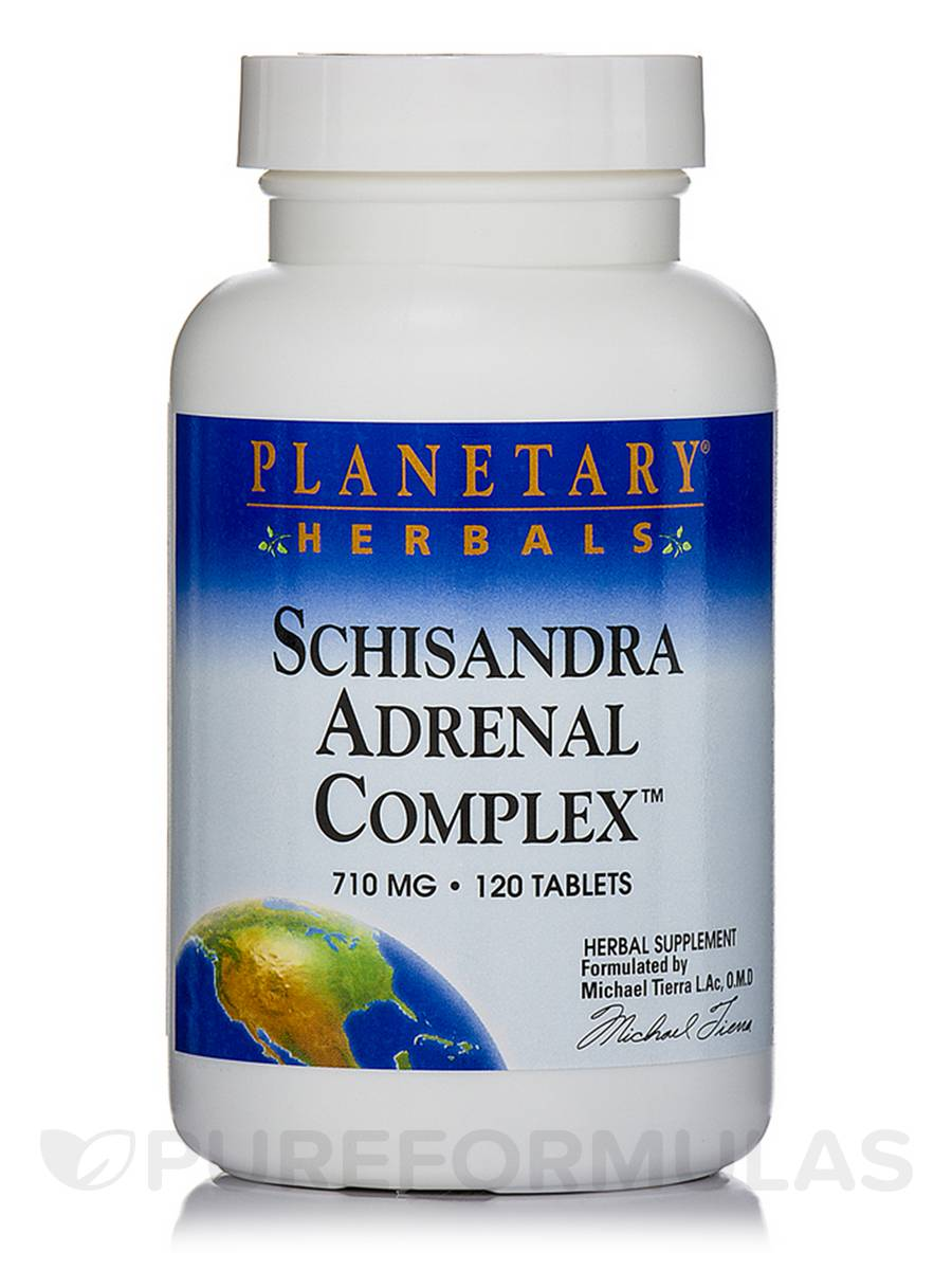 Schisandra Adrenal Complex 710 mg - 120 Tablets