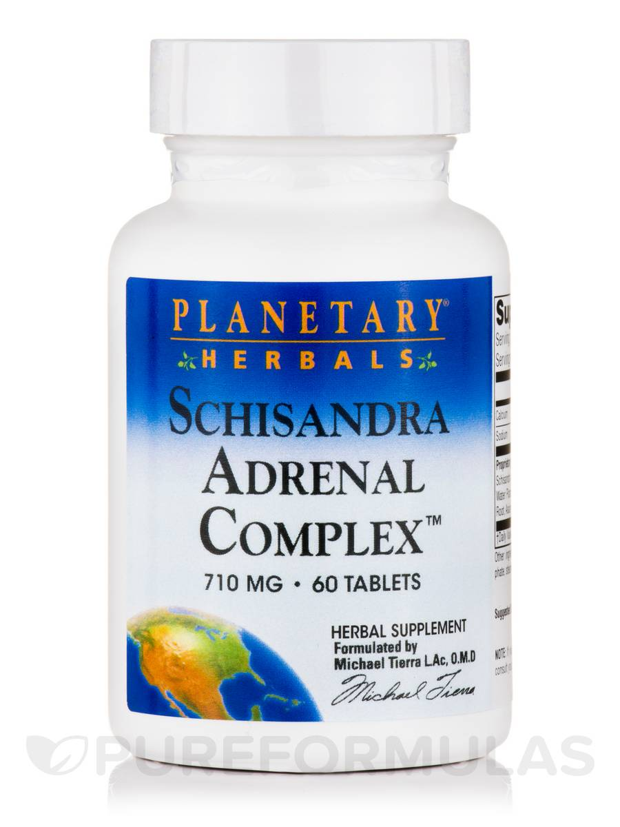 Schisandra Adrenal Complex 710 mg - 60 Tablets
