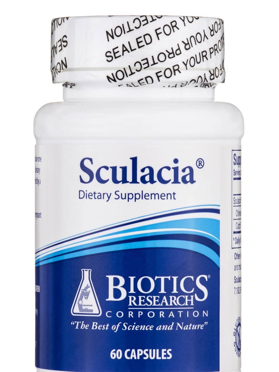 Sculacia - 60 Capsules