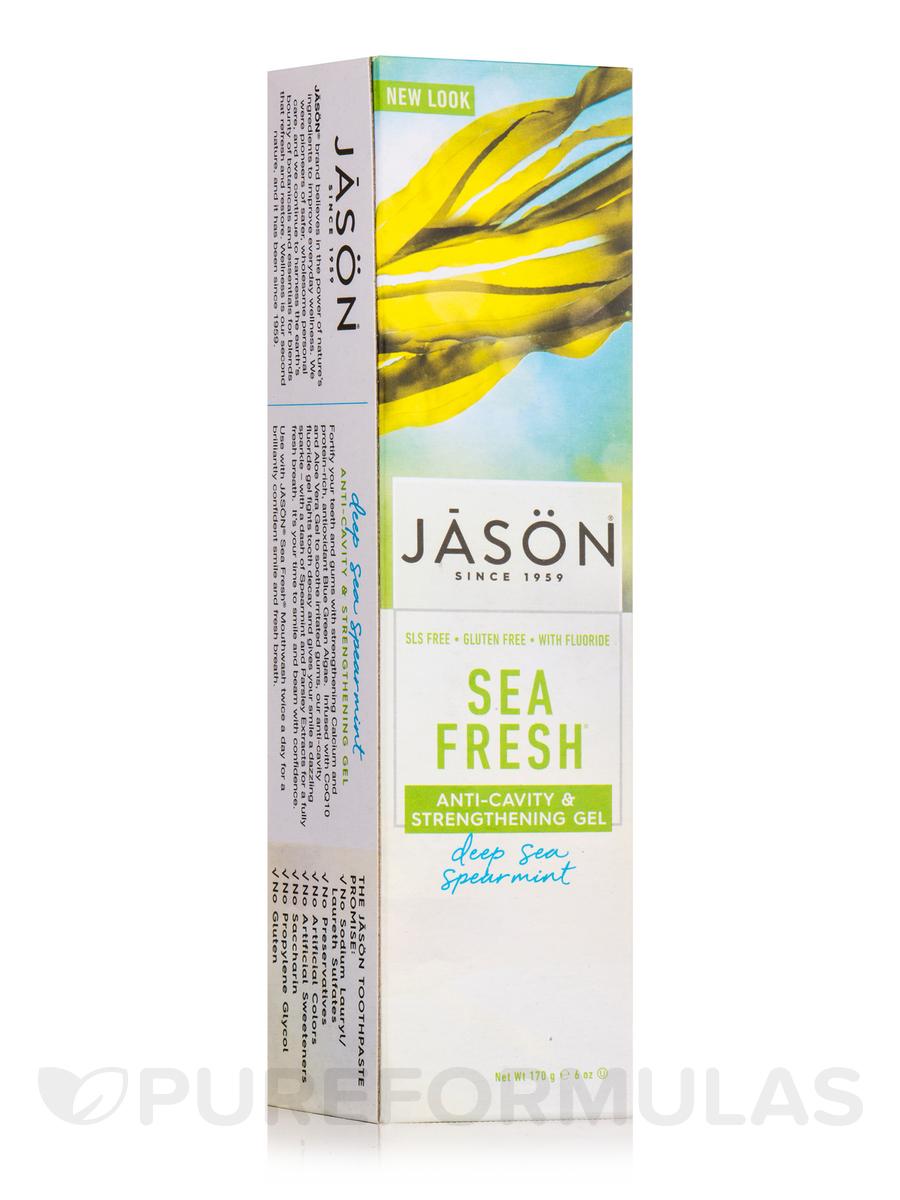 Sea Fresh Strengthening Anti-Cavity CoQ10 Toothpaste with Flouride - 6 oz (170 Grams)