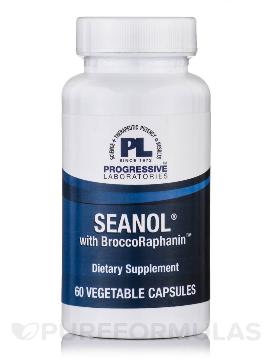 Seanol with Broccoraphanin - 60 Vegetable Capsules