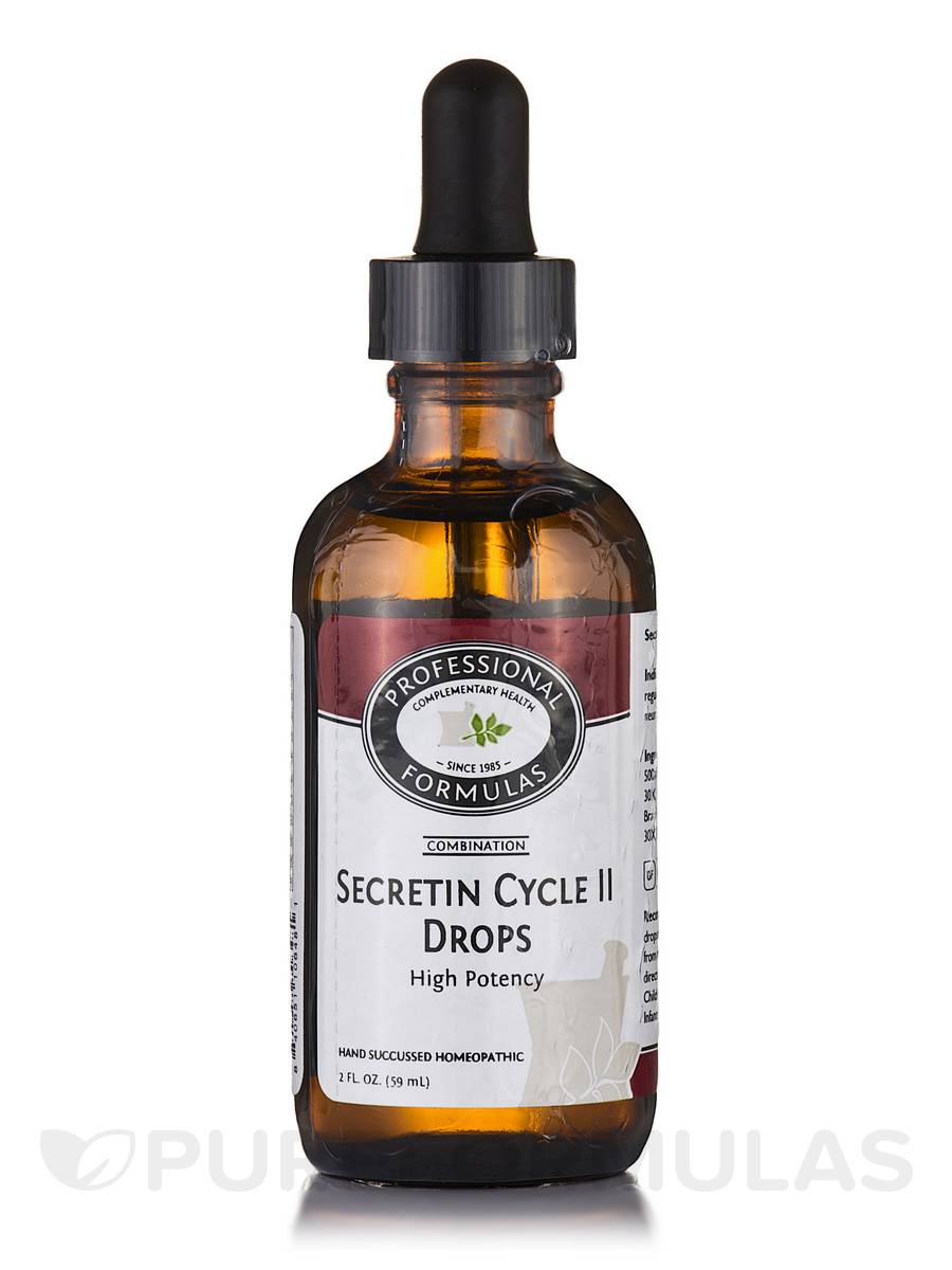Secretin Cycle 2 - Drops - 2 fl. oz (59 ml)