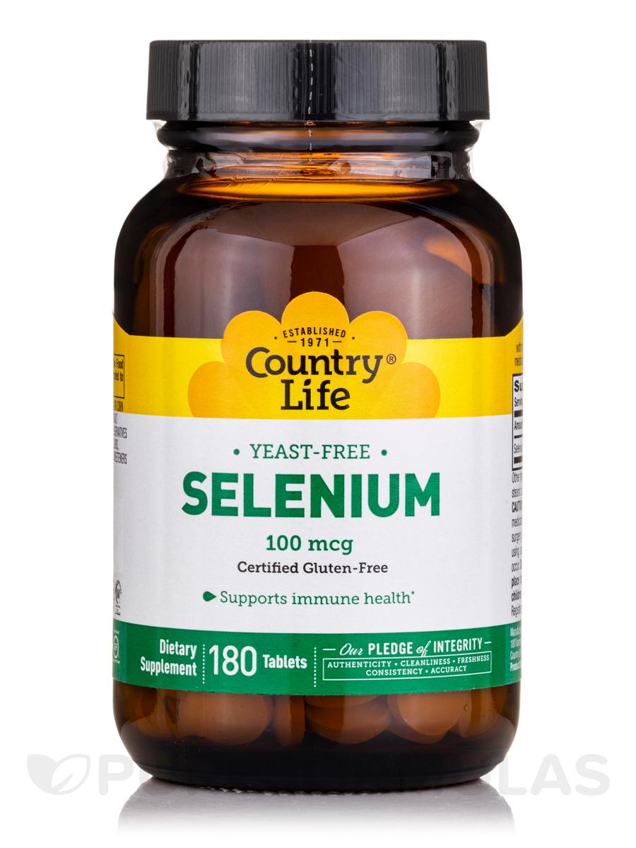 Selenium 100 mcg - 180 Tablets