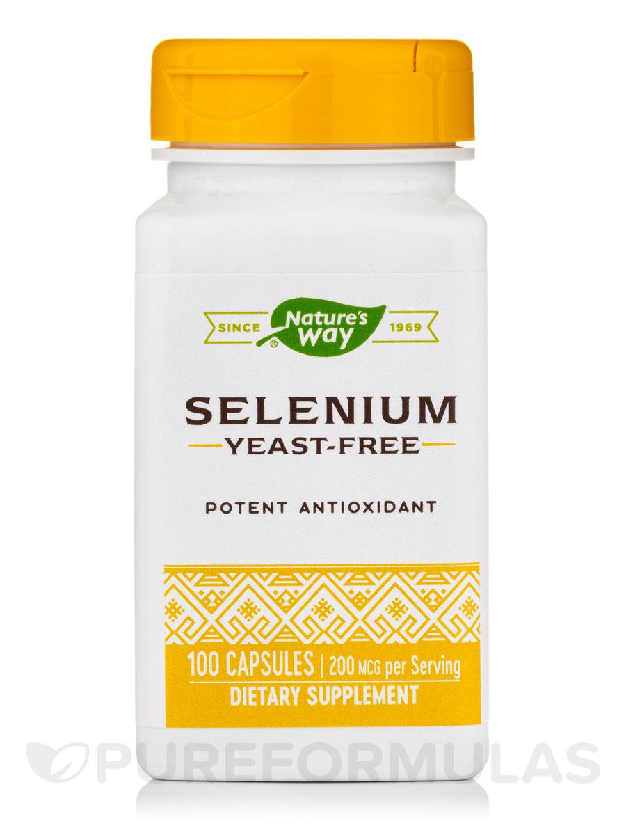 Selenium 200 mcg - 100 Capsules