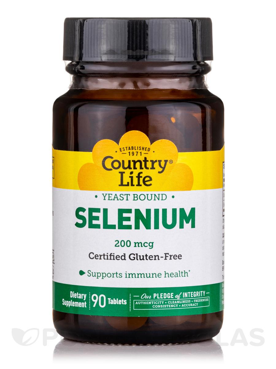 Selenium 200 mcg - 90 Tablets