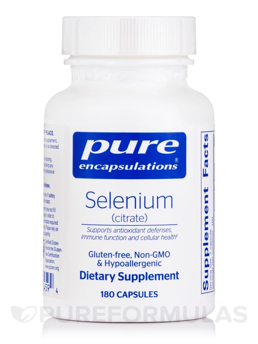 Selenium (citrate) - 180 Capsules