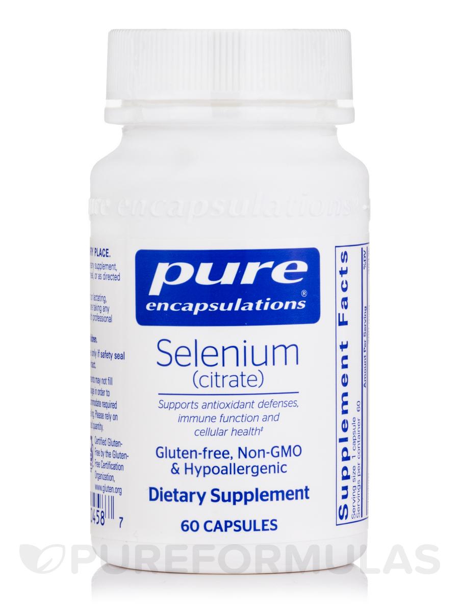 Selenium (citrate) - 60 Capsules