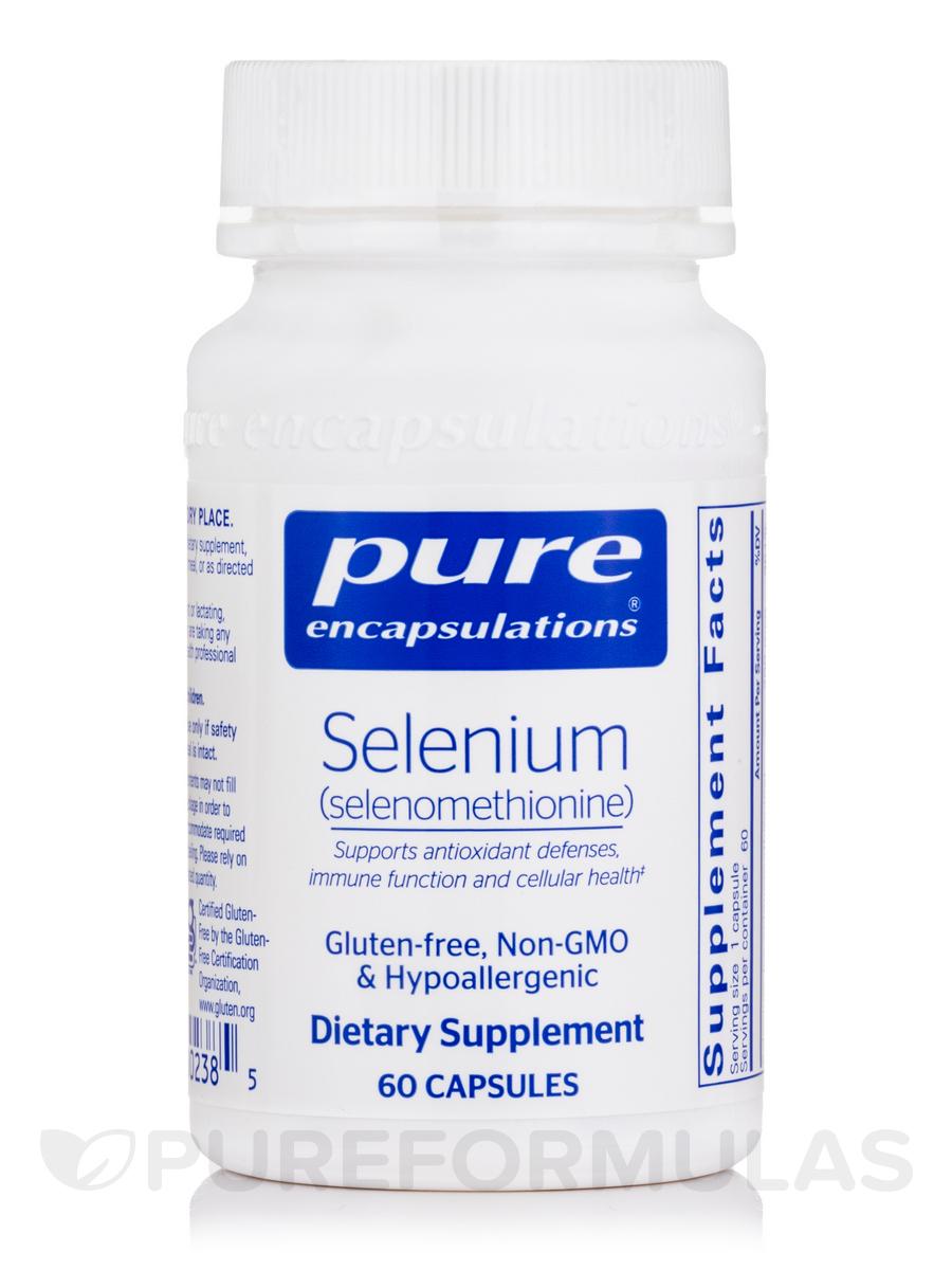 Selenium (selenomethionine) - 60 Capsules