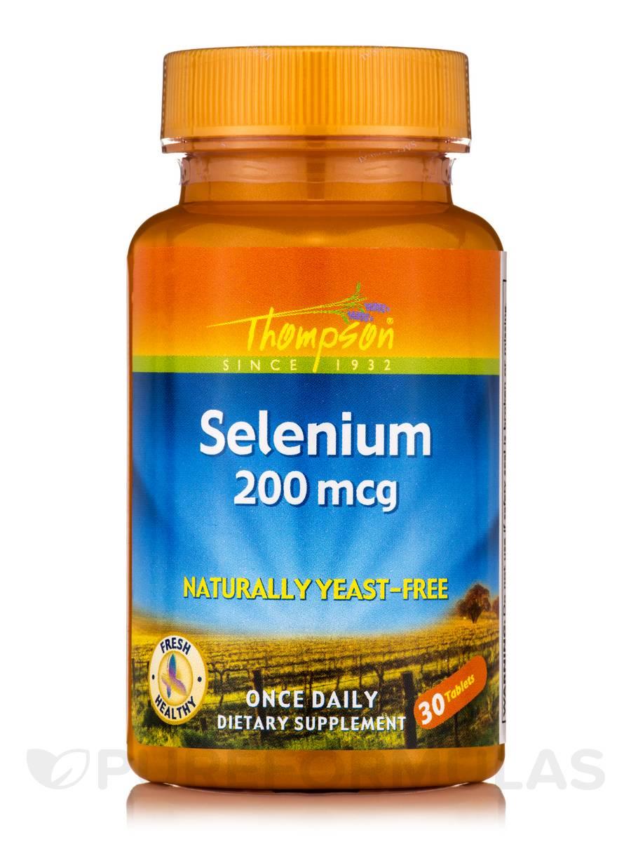 Selenium Yeast-Free 200 mcg - 30 Tablets
