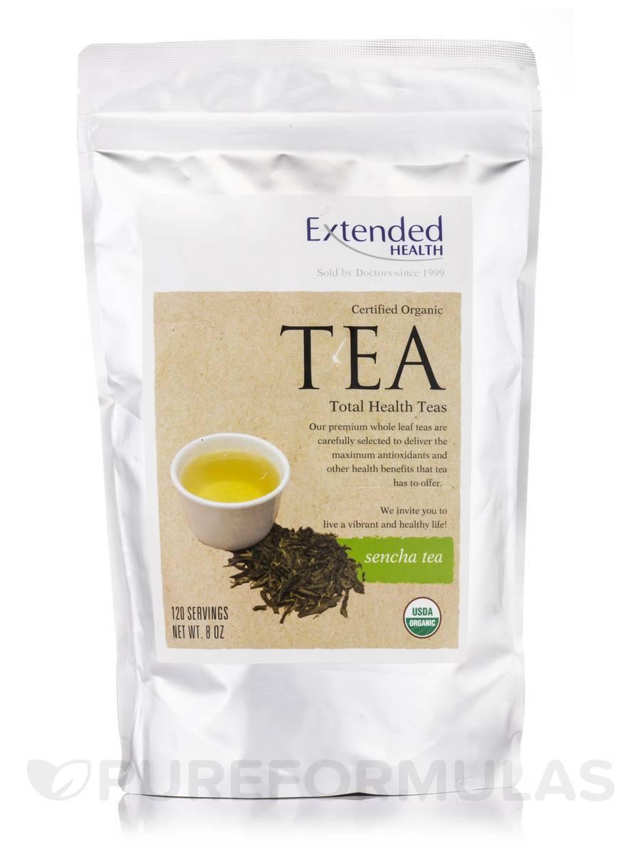 Organic Sencha Tea - 120 Servings (8 oz)