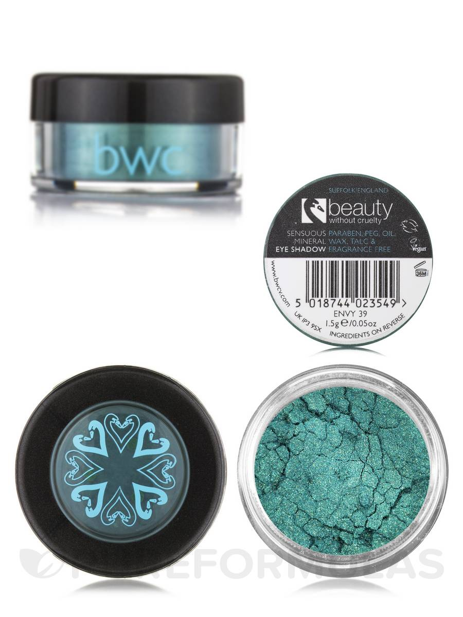 Sensuous Mineral Eyeshadow Loose - Envy (Light Green/Blue) - 0.05 oz (1.5 Grams)