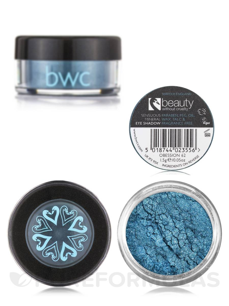 Sensuous Mineral Eyeshadow Loose - Obsession (Rich Blue) - 0.05 oz (1.5 Grams)