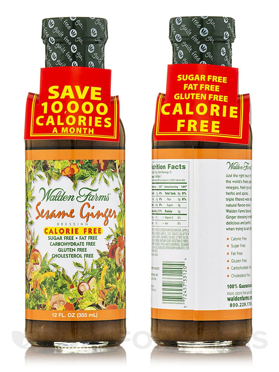 Sesame Ginger Salad Dressing - 12 fl. oz (355 ml)