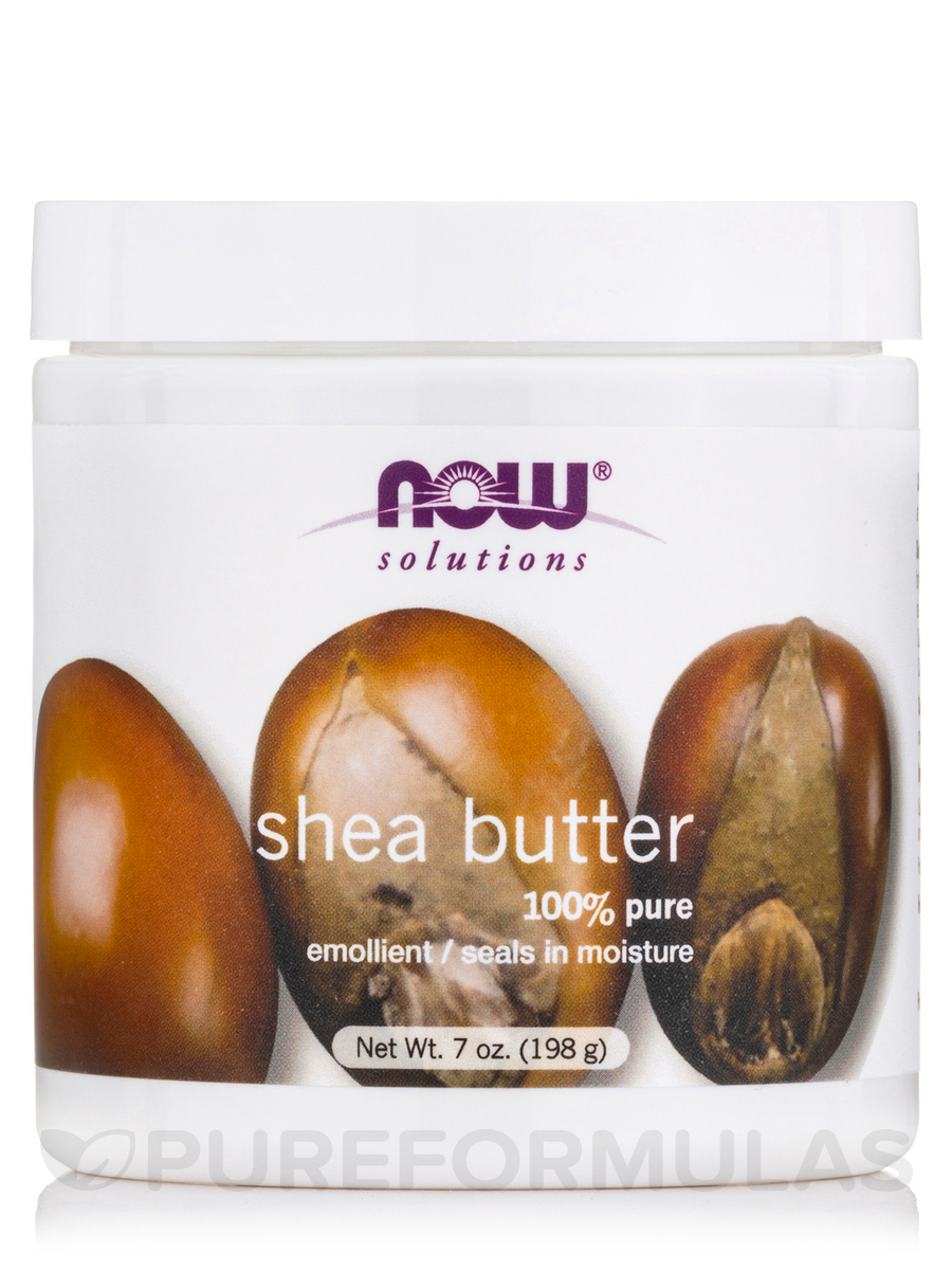 NOW® Solutions - Shea Butter (Natural) - 7 fl. oz (207 ml)
