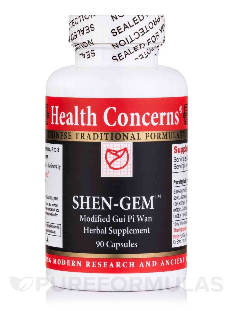 Shen-Gem (Ginseng & Longan) - 90 Tablets