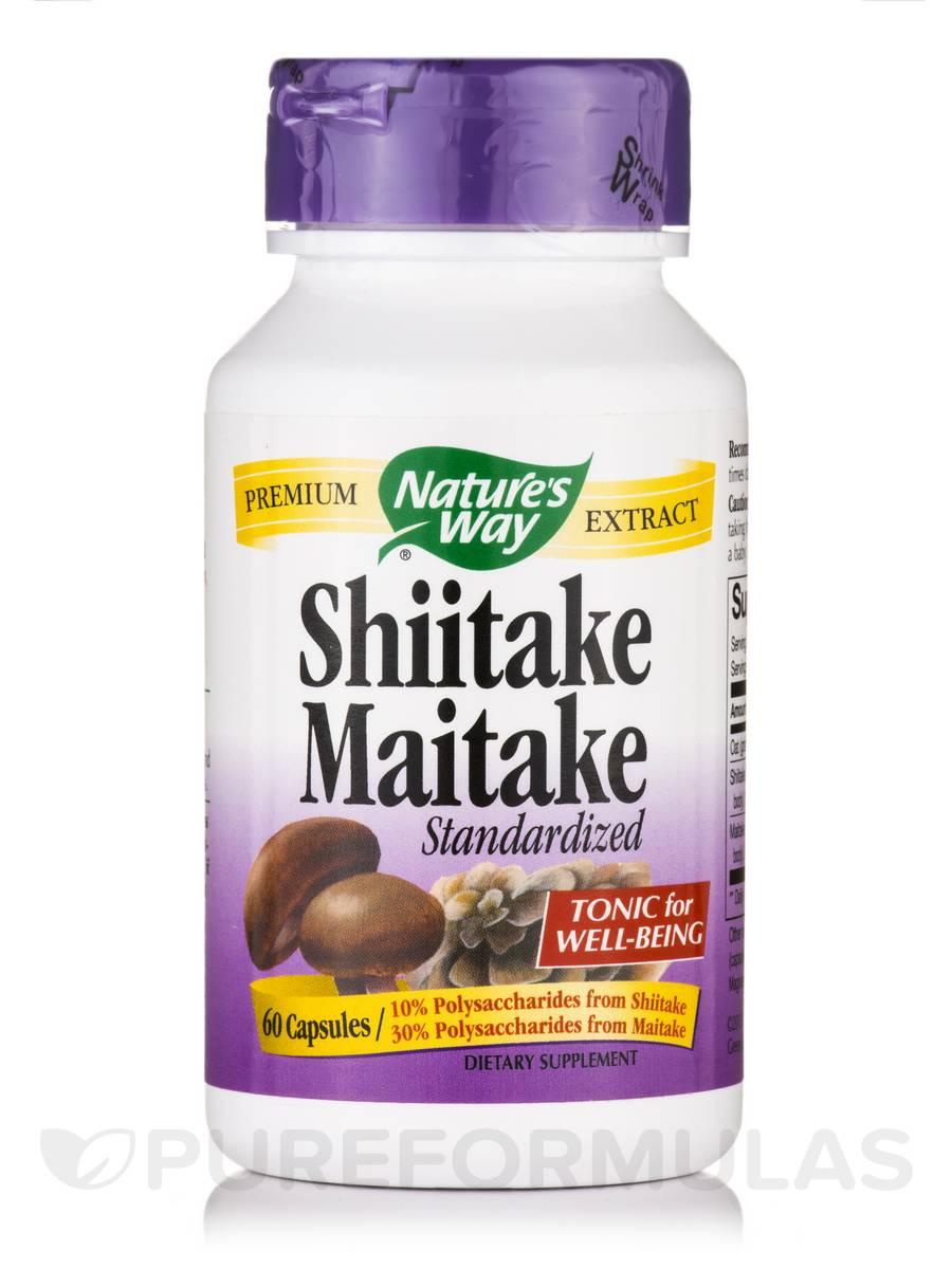 Shiitake Maitake - 60 Capsules