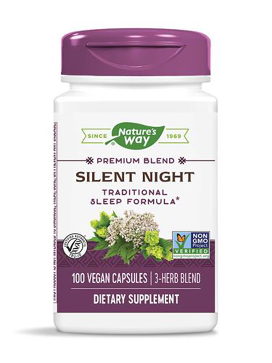 Nature S Way Silent Night With Valerian  Mg  Capsules