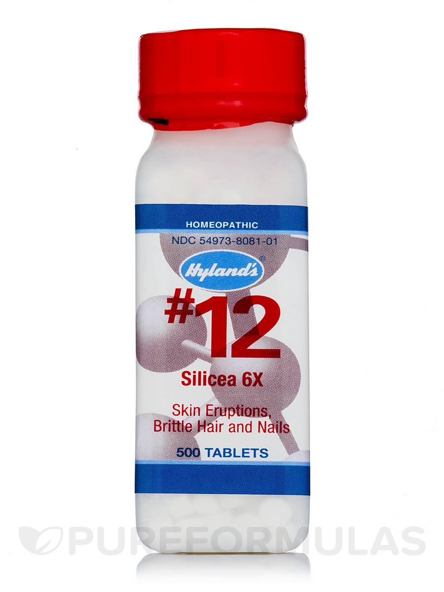 Silicea 6X - 500 Tablets