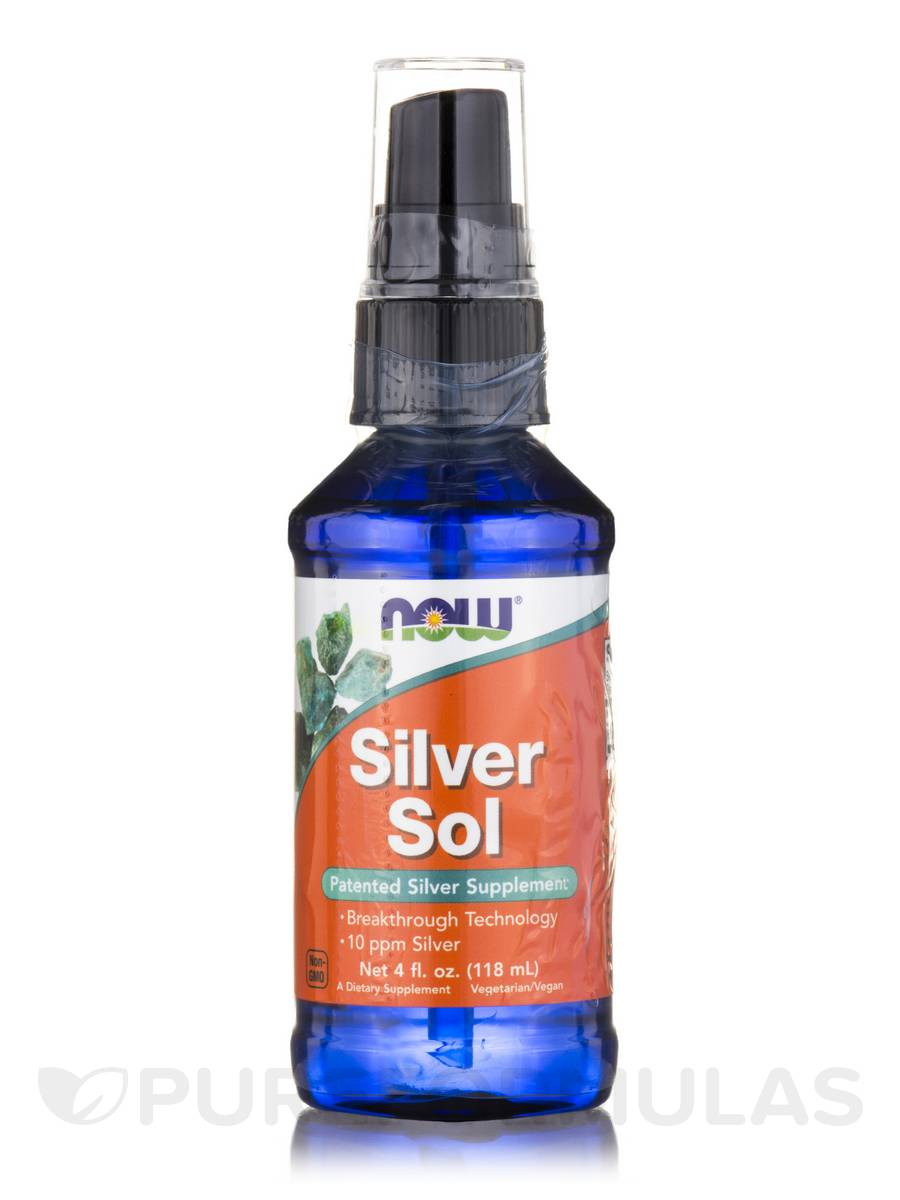 Silver Sol - 4 fl. oz (118 ml)