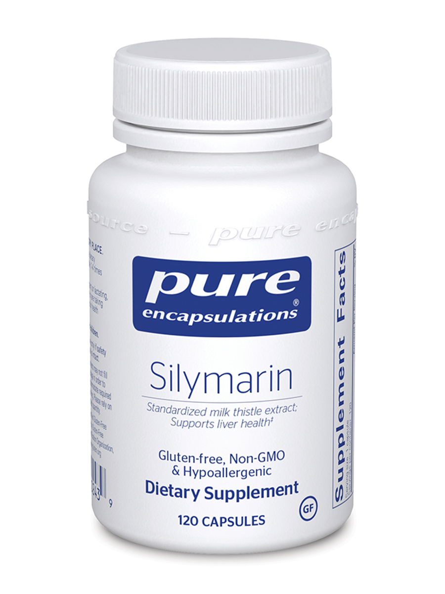 Silymarin (Milk Thistle Extract) - 120 Capsules