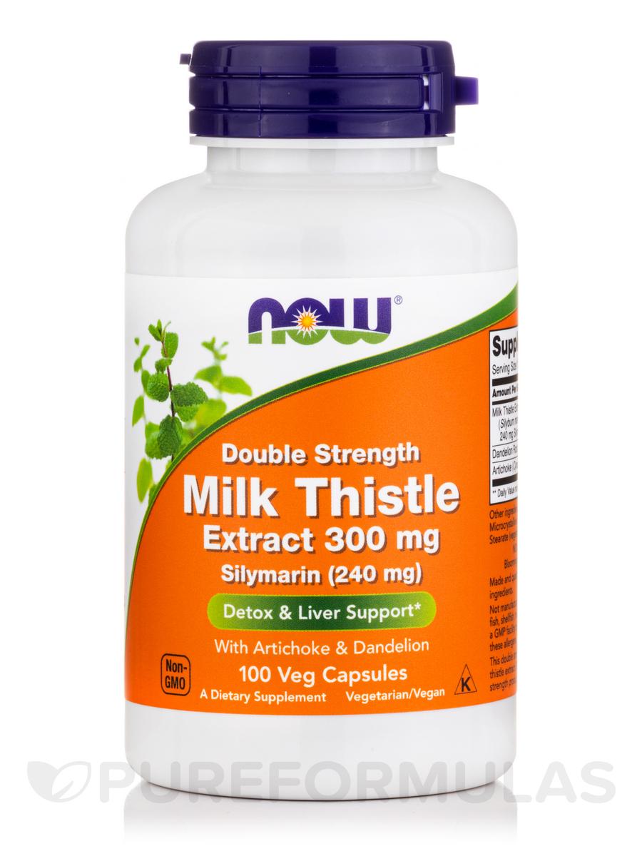 Silymarin 2X -300 mg - 100 Vegetarian Capsules