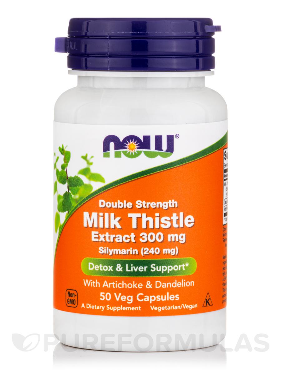 Silymarin 300 mg - 50 Veg Capsules