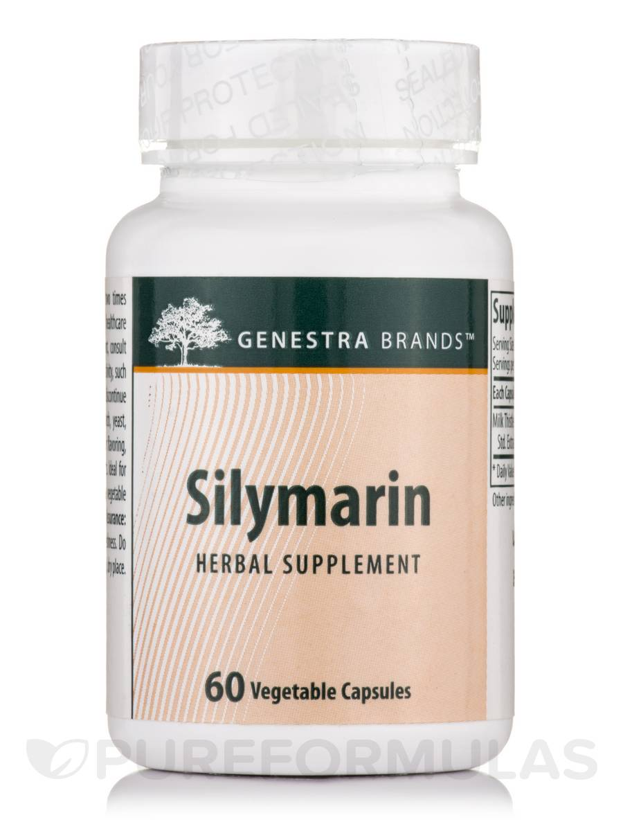 Silymarin - 60 Vegetable Capsules