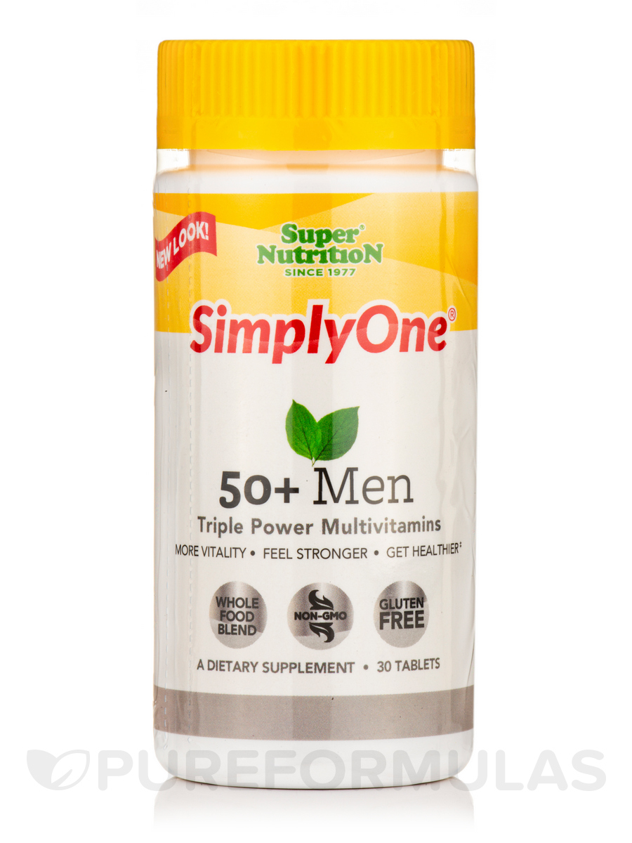 Simply One® 50+ Men - 30 Tablets