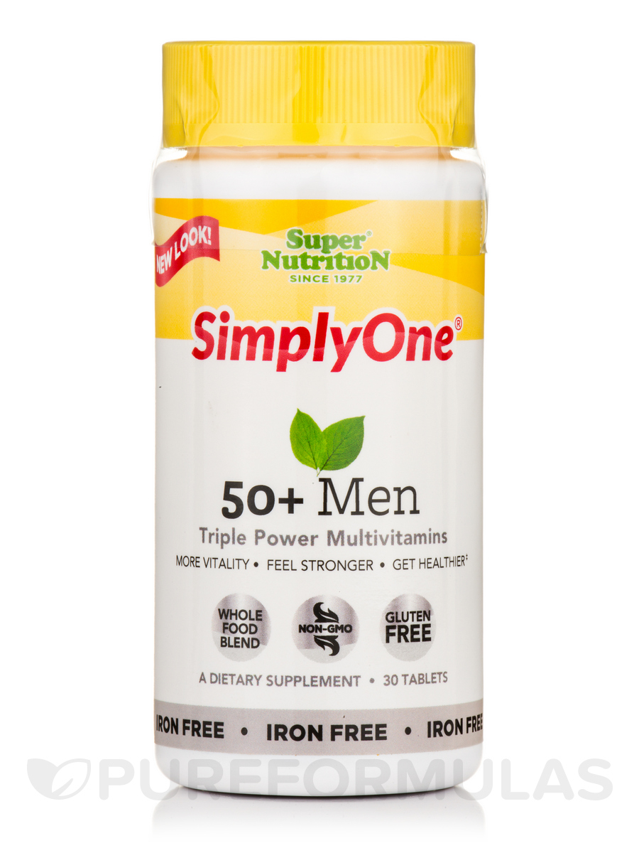 Simply One® 50+ Men - I/F - 30 Tablets