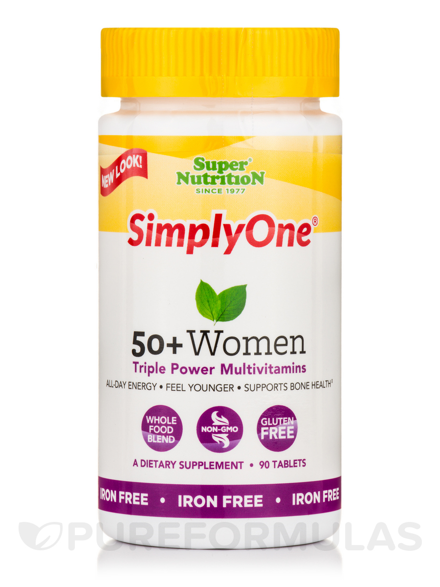 Simply One® 50+ Women - I/F - 90 Tablets