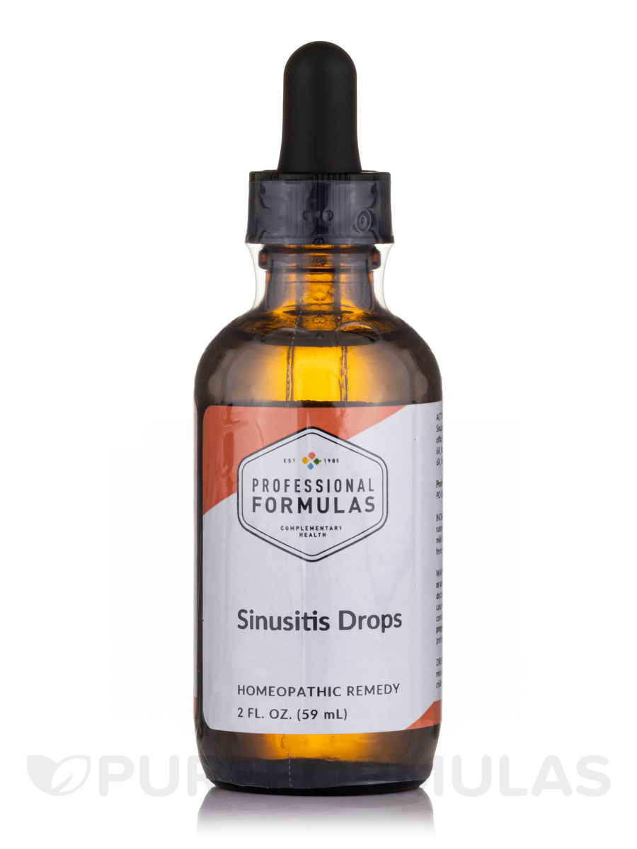 Sinusitis Drops - 2 fl. oz (60 ml)