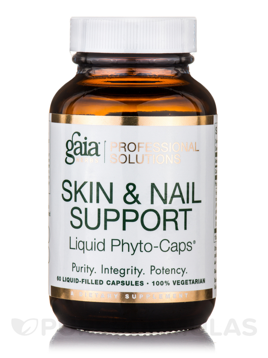 Skin and Nail Support - 60 Vegetarian Liquid-Filled Capsules