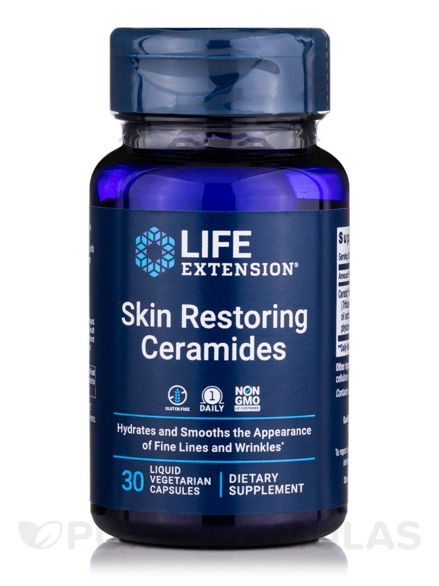 Skin Restoring Phytoceramides with Lipowheat - 30 Vegetarian Liquid Capsules
