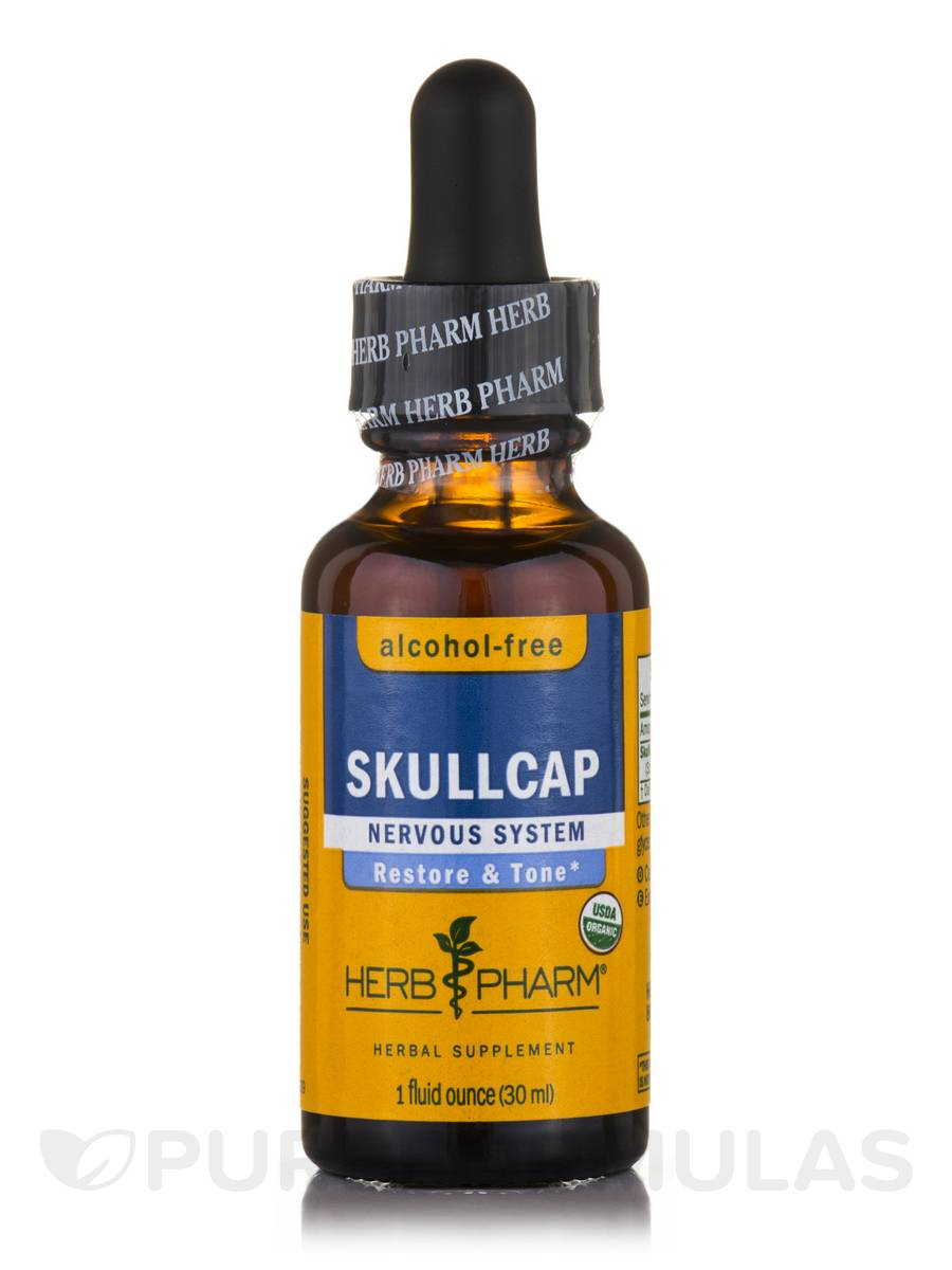 Skullcap Alcohol-Free - 1 fl. oz (29.6 ml)